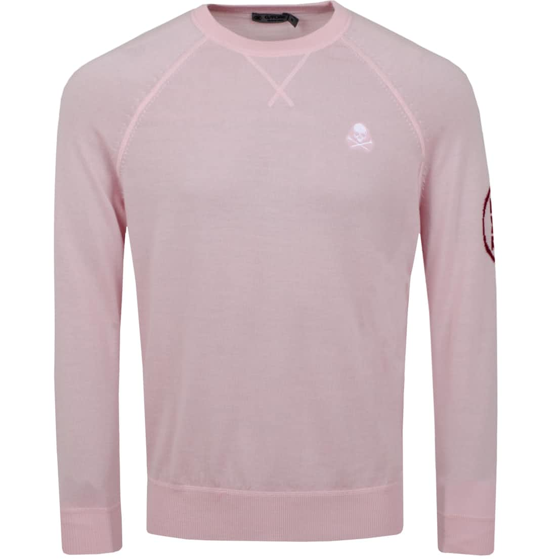 x TRENDYGOLF Skull Crewneck Sweater Rose Quartz - AW20