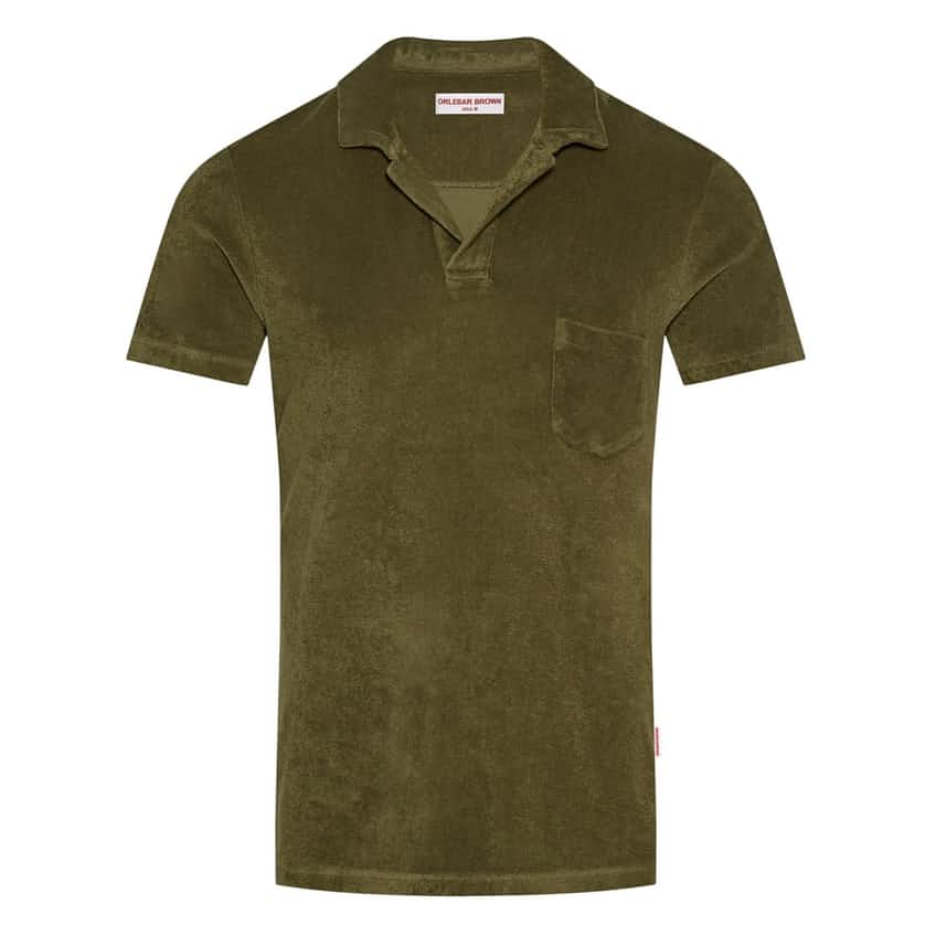 Terry Towelling Olive - AW20