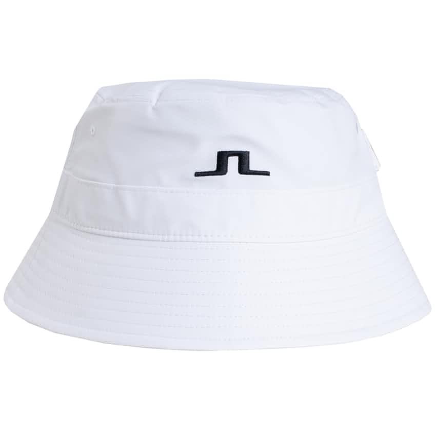 Hans Micro Poly Bucket Hat White - AW20