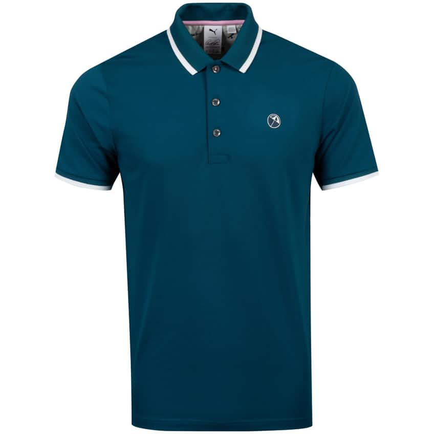 Signature Tipped Polo Legion Blue - 2021