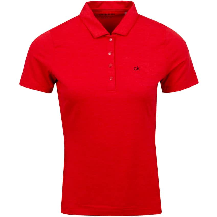 Womens Alber Polo Cayenne Marl - AW20