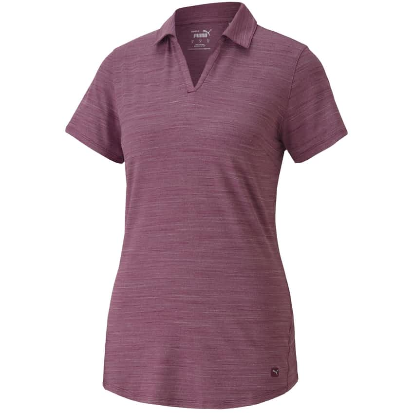 Womens Cloudspun Free Polo Dark Purple - AW20