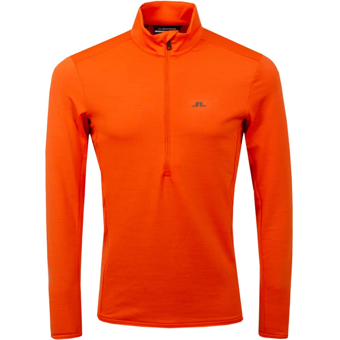 Luke Half Zip Mid Layer Juicy Orange - AW20