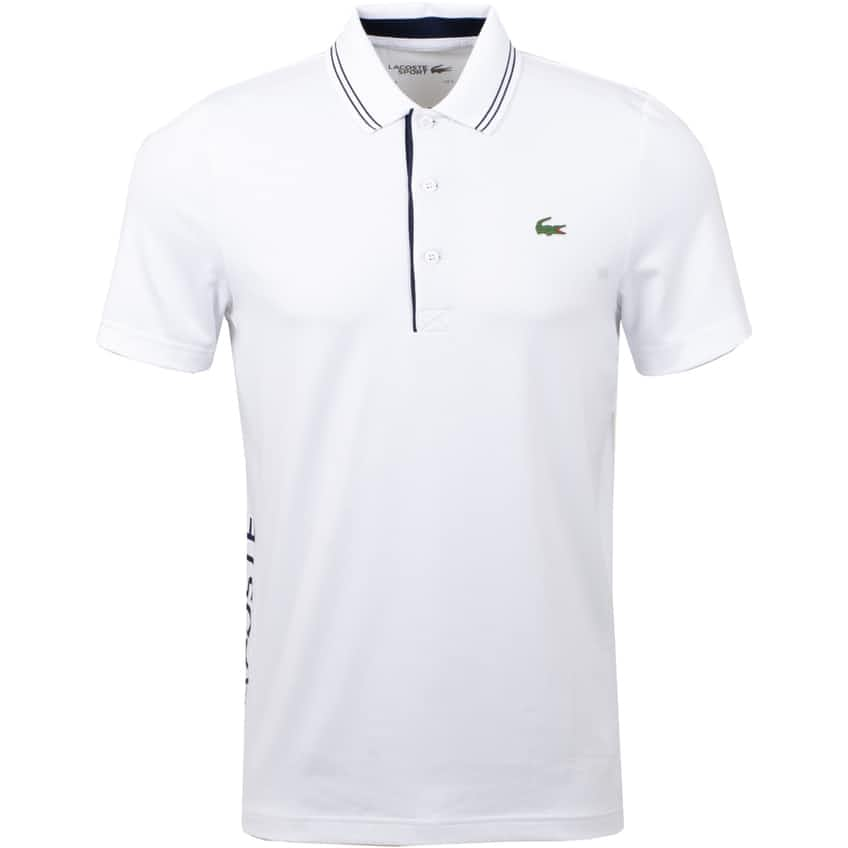 Technical Tipped Polo White - 2020