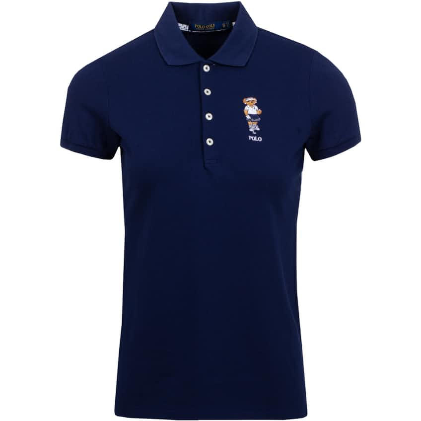 Womens Kate Bear Polo French Navy - AW20