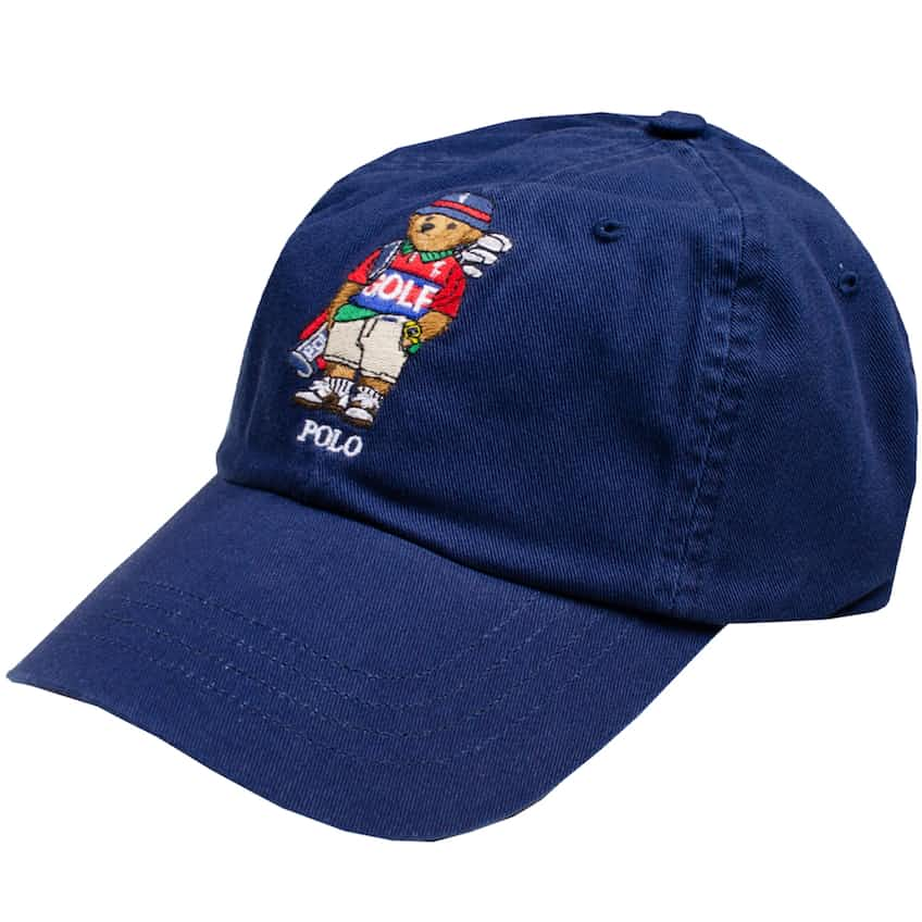 Bear Chino Cap French Navy - AW20