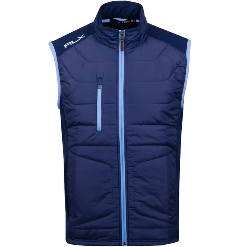 Cool Wool Vest French Navy - AW20