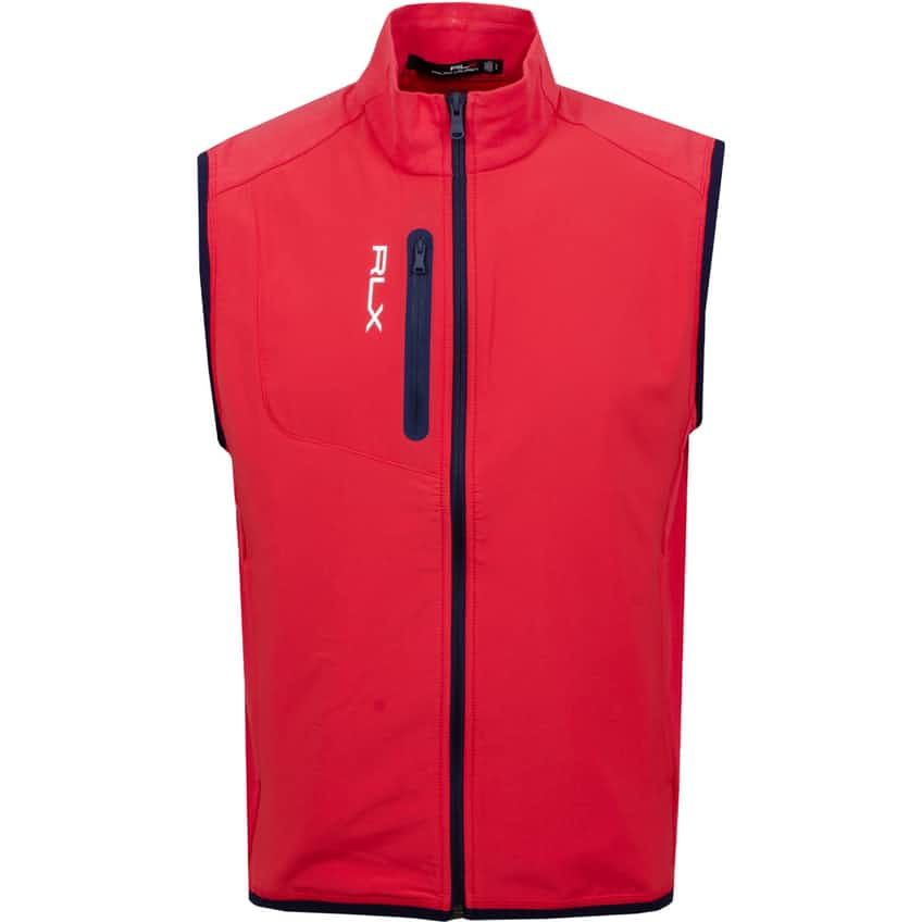 Tech Terry Vest Sunrise Red - AW20