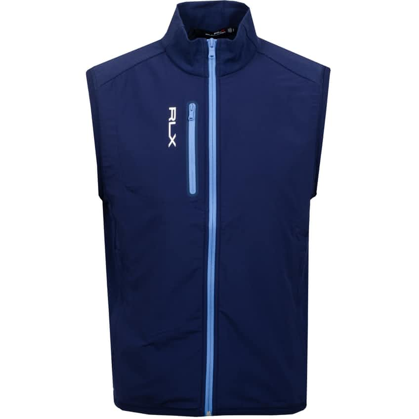 Tech Terry Vest French Navy - 2021