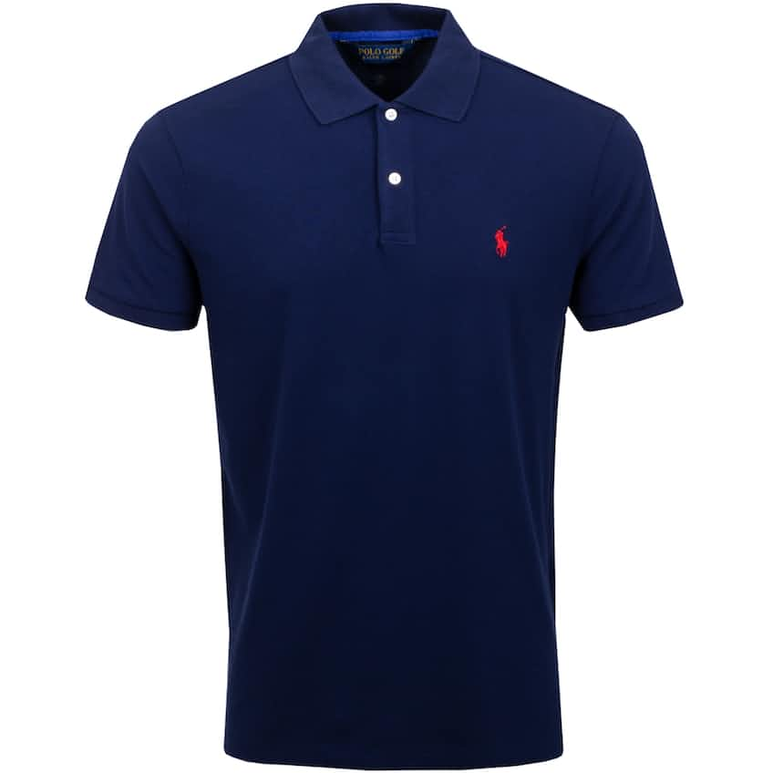 Stretch Mesh Pro Fit Polo French Navy - AW20