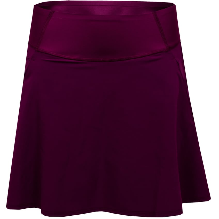 Womens PWRSHAPE Solid Woven Skirt Dark Purple