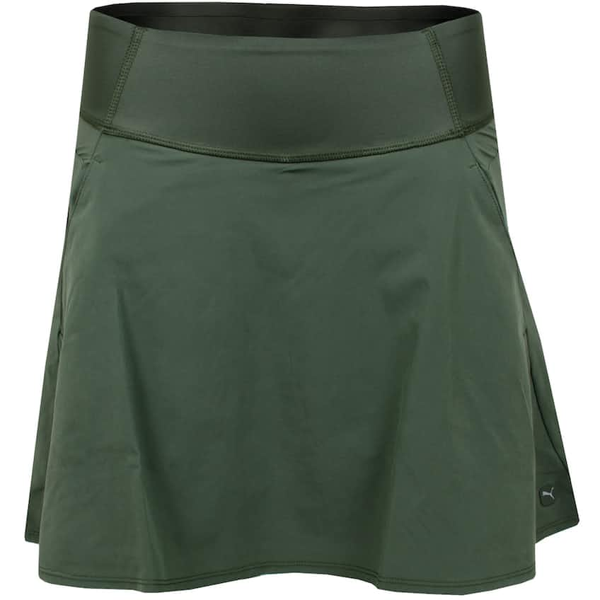 Womens PWRSHAPE Solid Woven Skirt Thyme - AW20