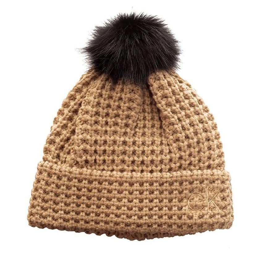 Womens Swift Beanie Old Gold - AW20
