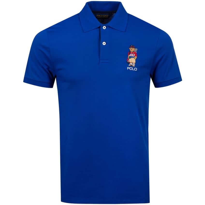 Bear Performance Pique Polo Rugby Royal - AW20