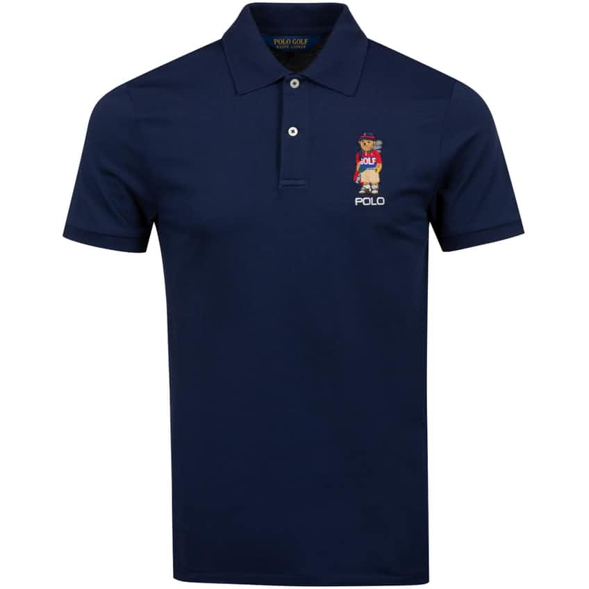 Bear Performance Pique Polo French Navy - AW20