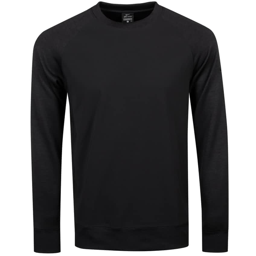 Dry LS Player Crew Black - AW20