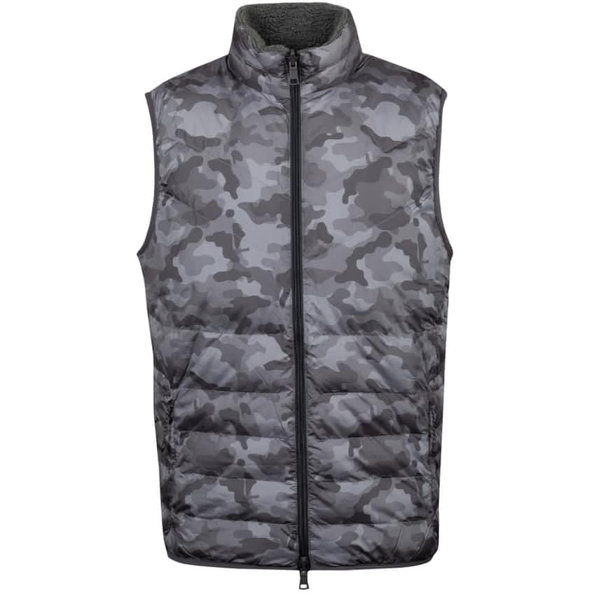 Camo Vest Charcoal - AW20