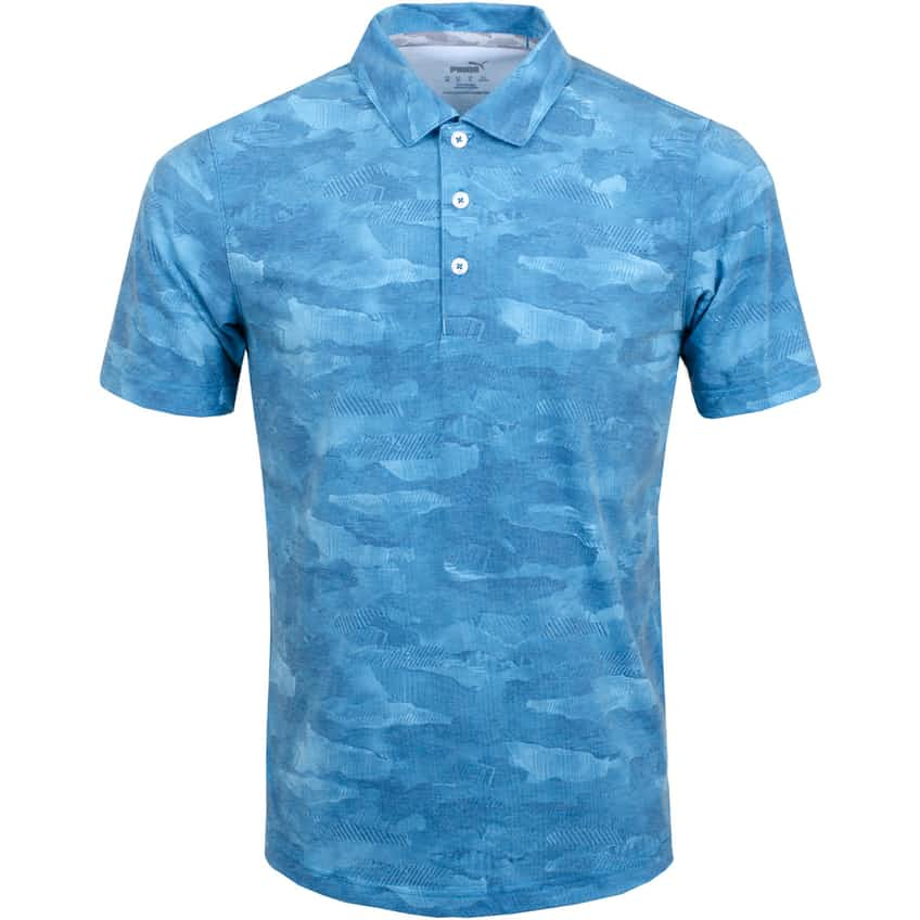 Solarized Camo Polo Digi-blue - AW20