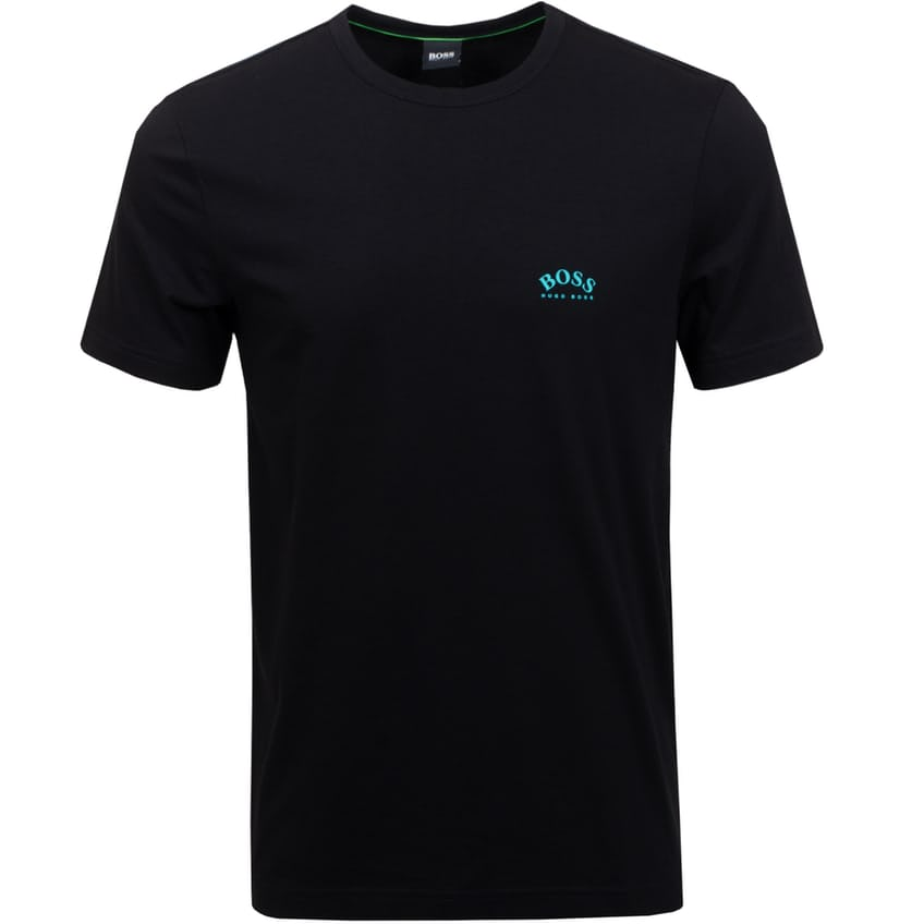 Tee Curved Soft Cotton Black