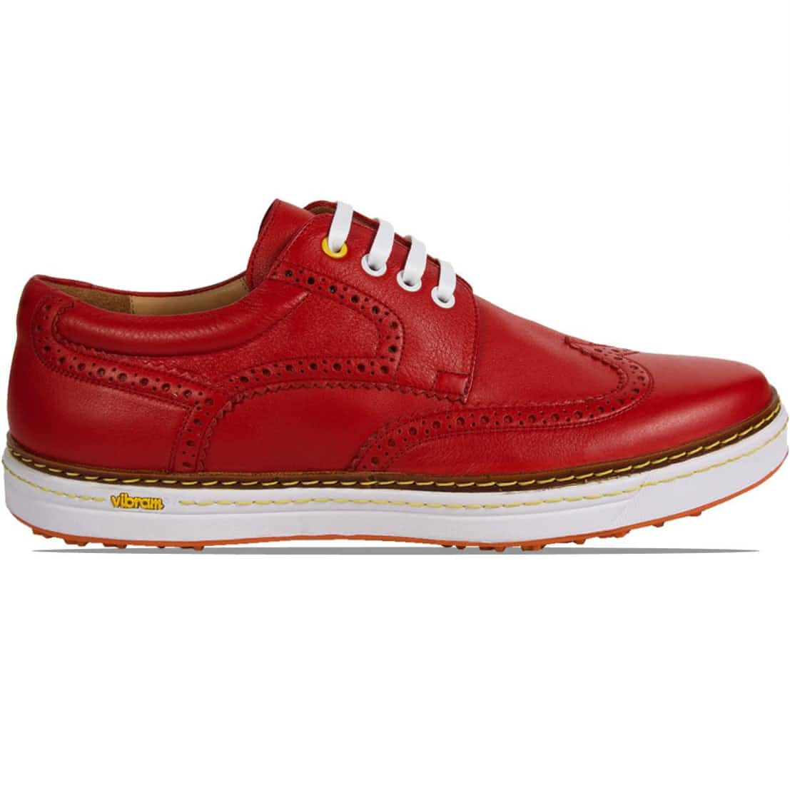 Club Brogue Red