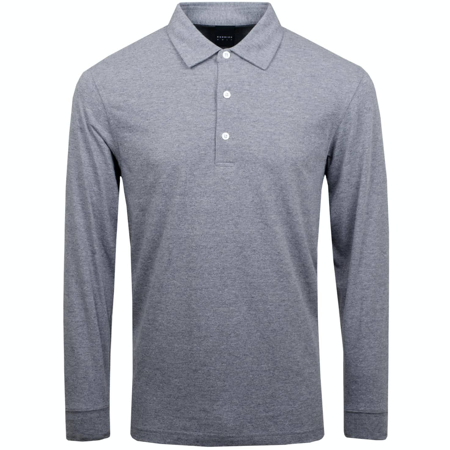 Vance LS Natural Hand Polo Grey Heather - 2020