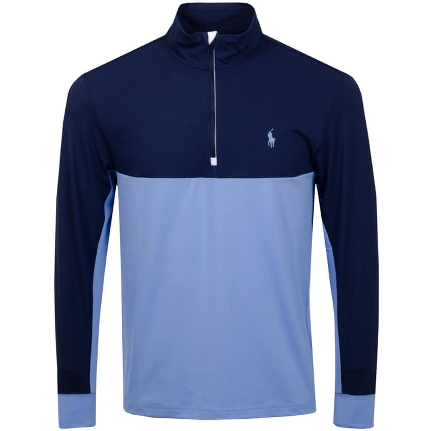 Colourblock Peached LS HZ Jersey Fall Blue/French Navy - AW20