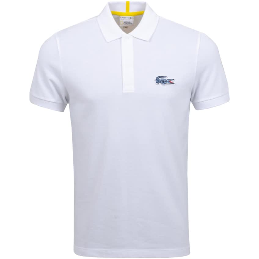National Geographic Polo White/Frog - AW20