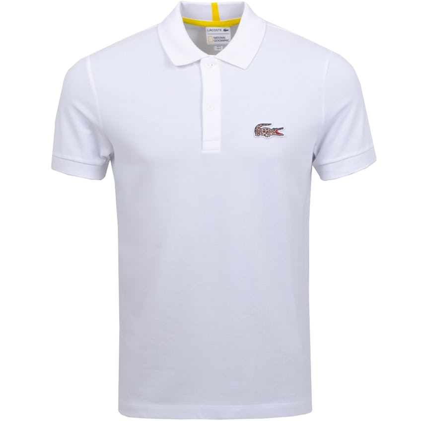 National Geographic Polo White/Leopard - AW20 0