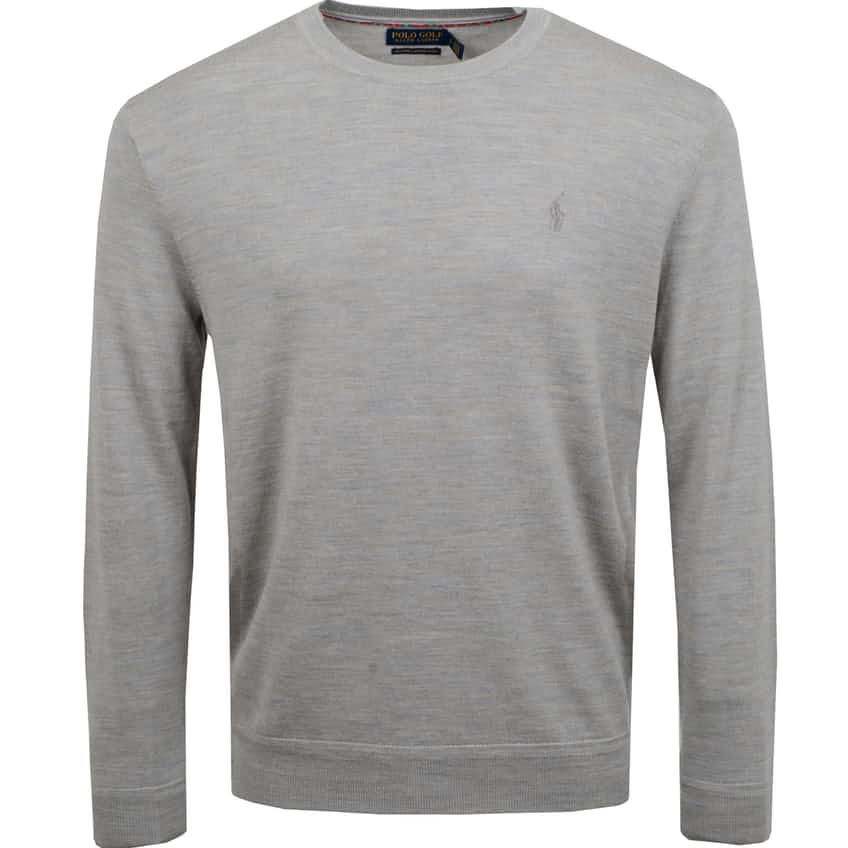 Crew Neck Sweater Dark Sport Heather - AW20