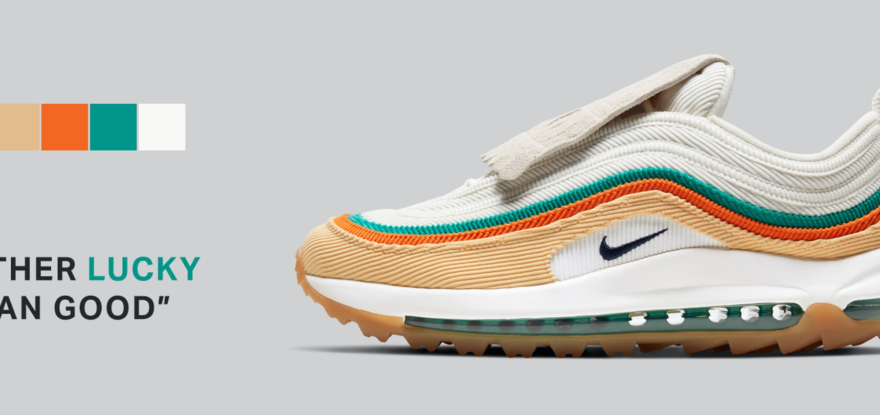 Rather Lucky Than Good from Nike Golf