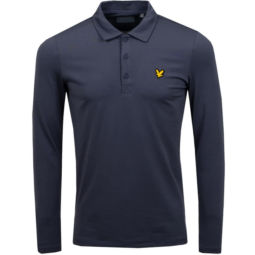 Long Sleeve Polo Observer Grey - AW20