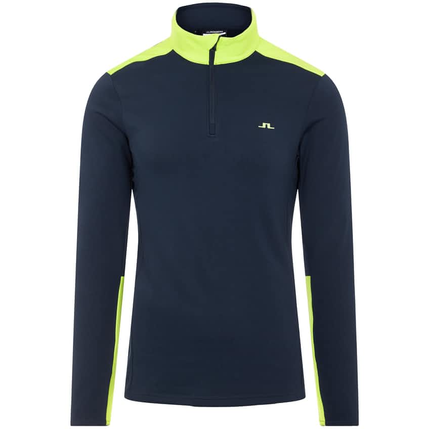 Garry Mid Layer Navy/Lime Green - AW20
