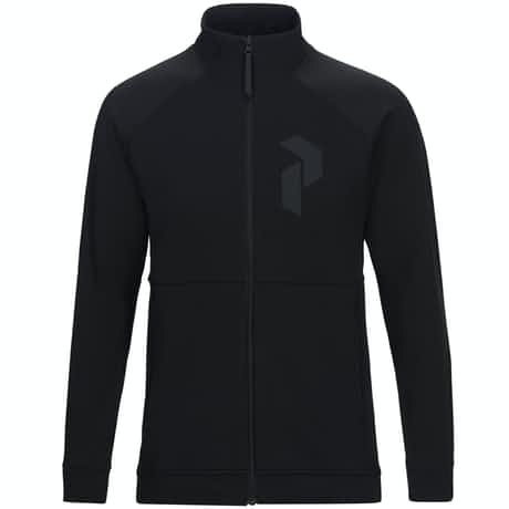 Peak Performance Pulse Zip Black - AW18
