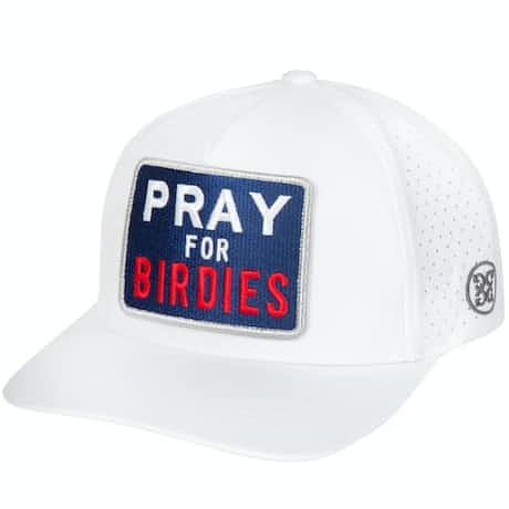 Pray For Birdies Snapback Snow - 2020