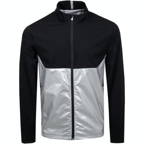 Stratus Full Zip 2.5 Layer Jacket Silver/Polo Black - SS19
