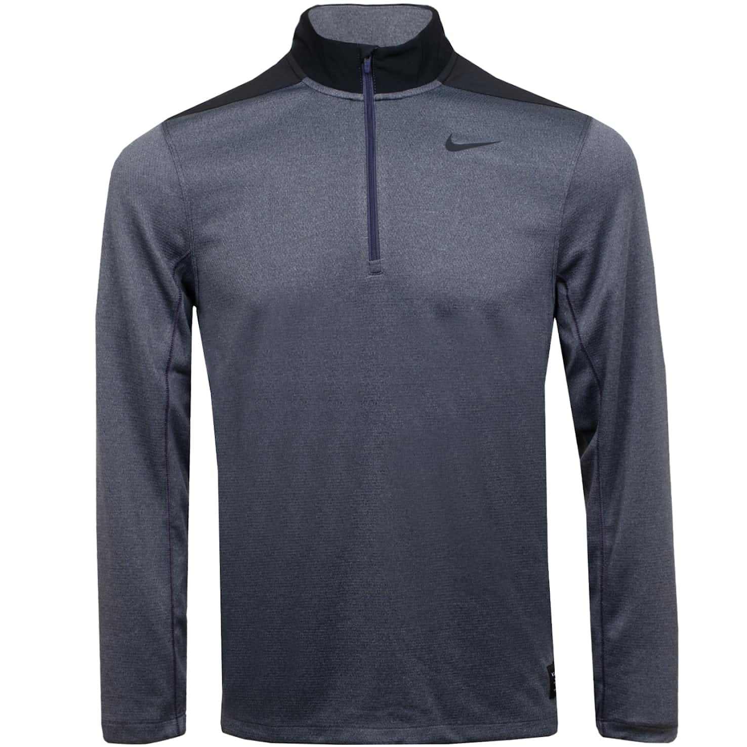 Nike Core Half Zip Dry Top Gridiron/Cool Grey - AW19