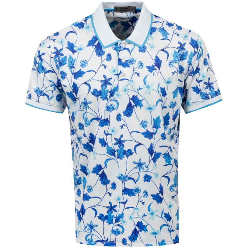 Printed Floral Polo Snow - SS21