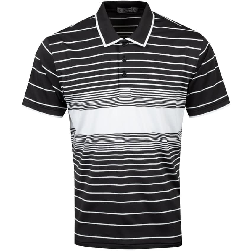 Illusion Stripe Polo Onyx - SS21