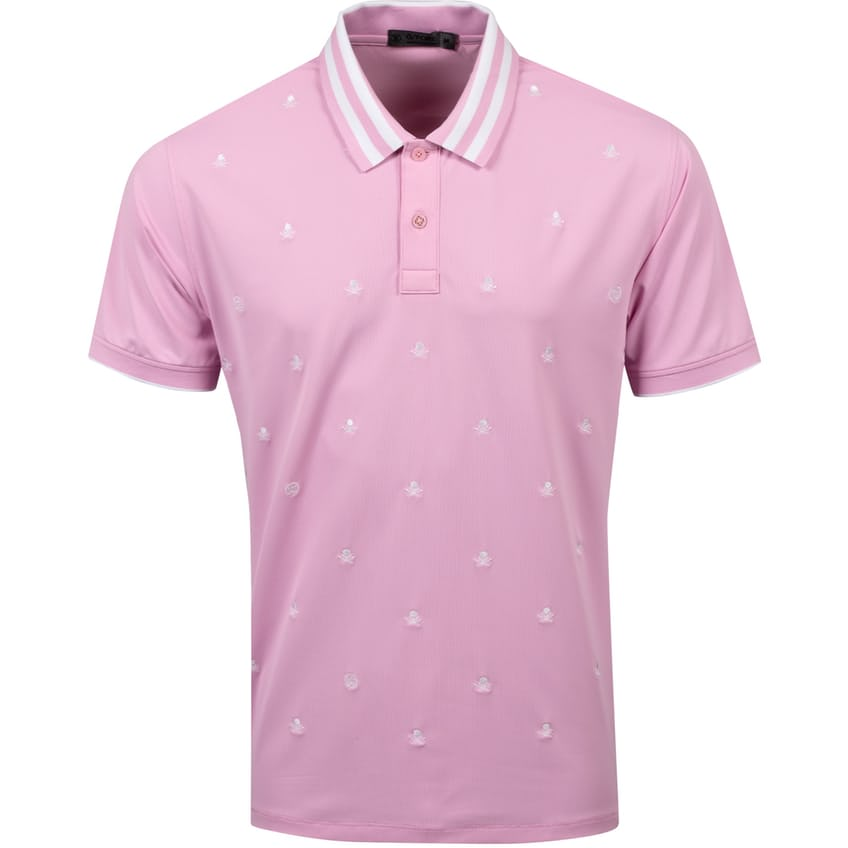 Skull & T's Embroidered Polo Lilac - SS21