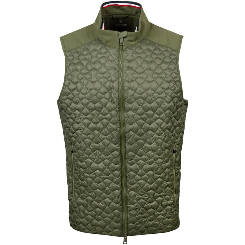 4.1 Quilted Vest Olive - SS21