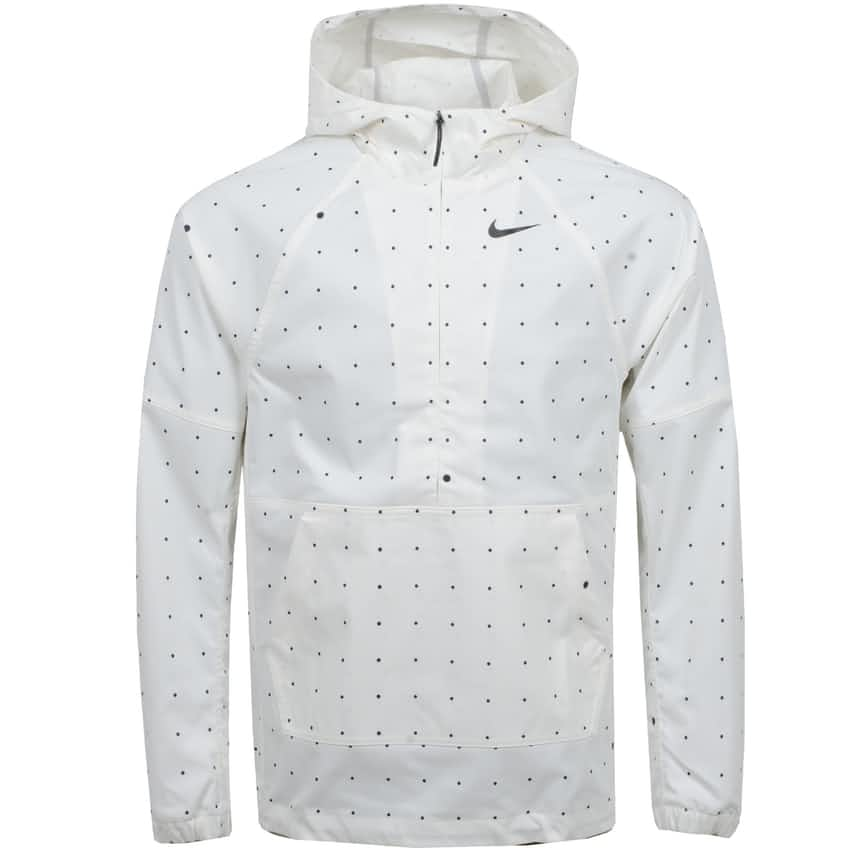 Repel NGC Dot Print Anorak Jacket Summit White - SS21