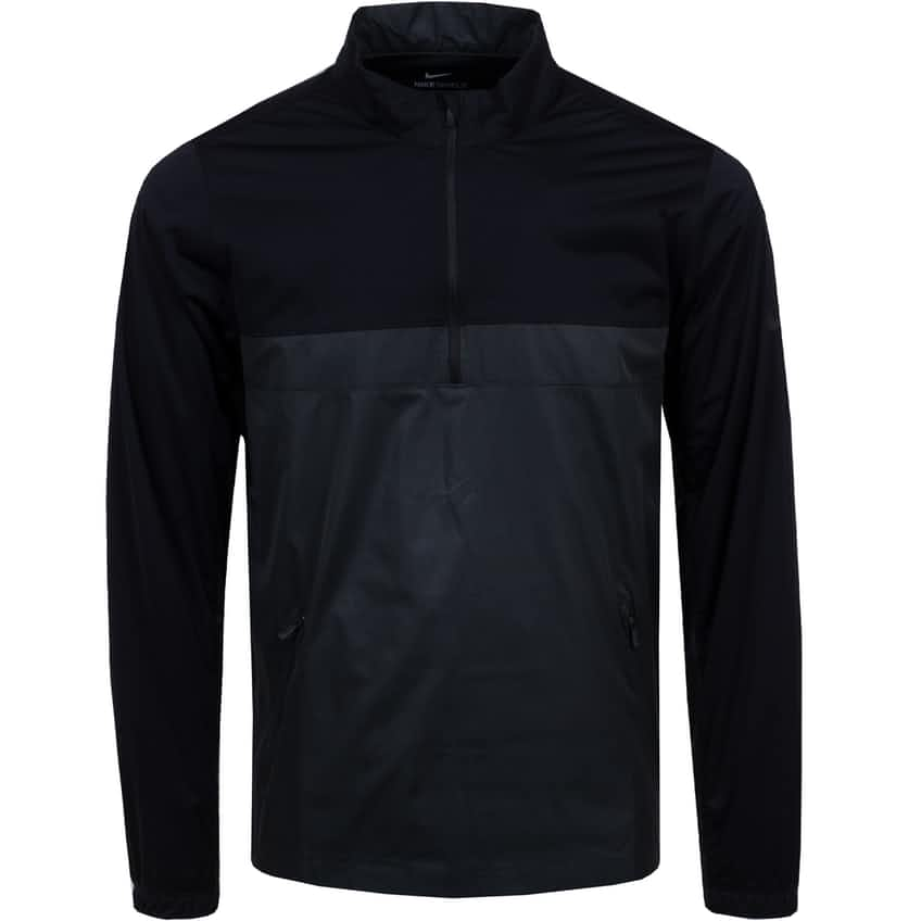 Shield Victory Half Zip Jacket Black - SS21