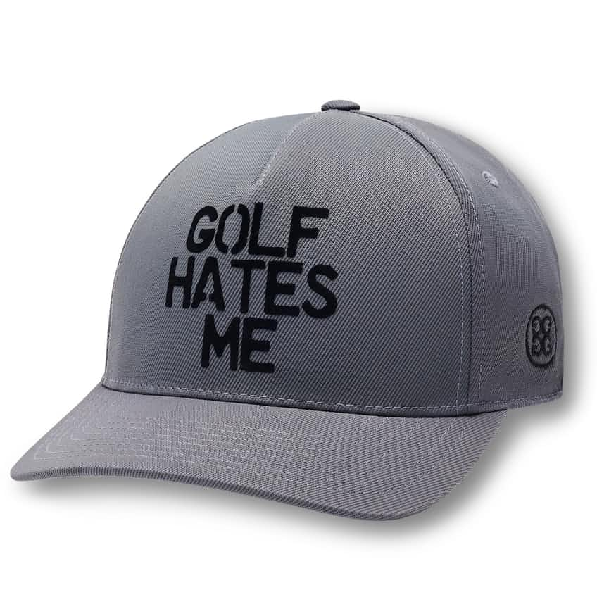 Golf Hates Me Snapback Charcoal - SS21