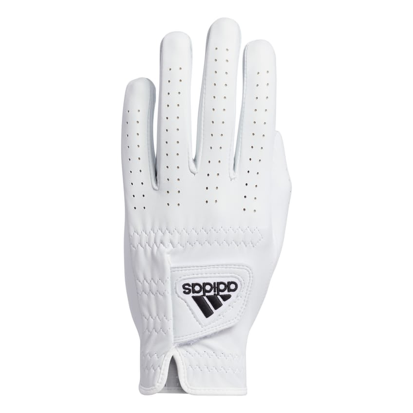 Left Leather Glove White - SS21