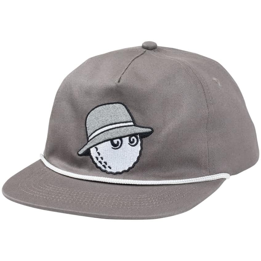 x TRENDYGOLF Golf Rope Hat Charcoal - SS21