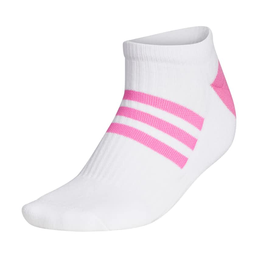 Womens Comfort Low Sock White/Screaming Pink - SS21