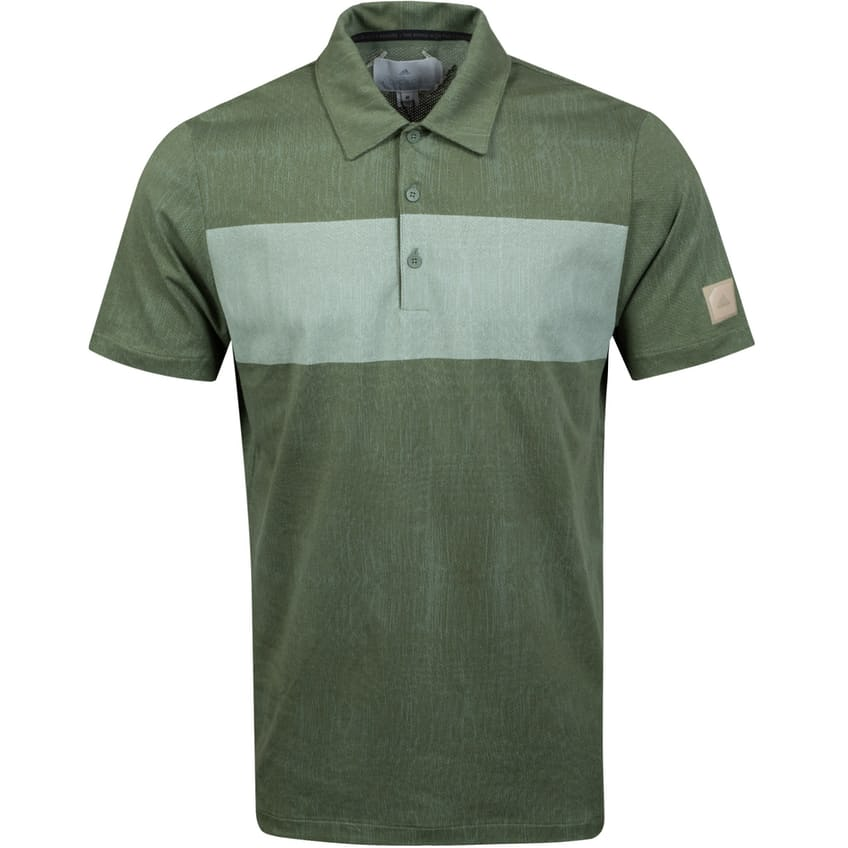 Adicross Graphic Polo Natural Green - SS21