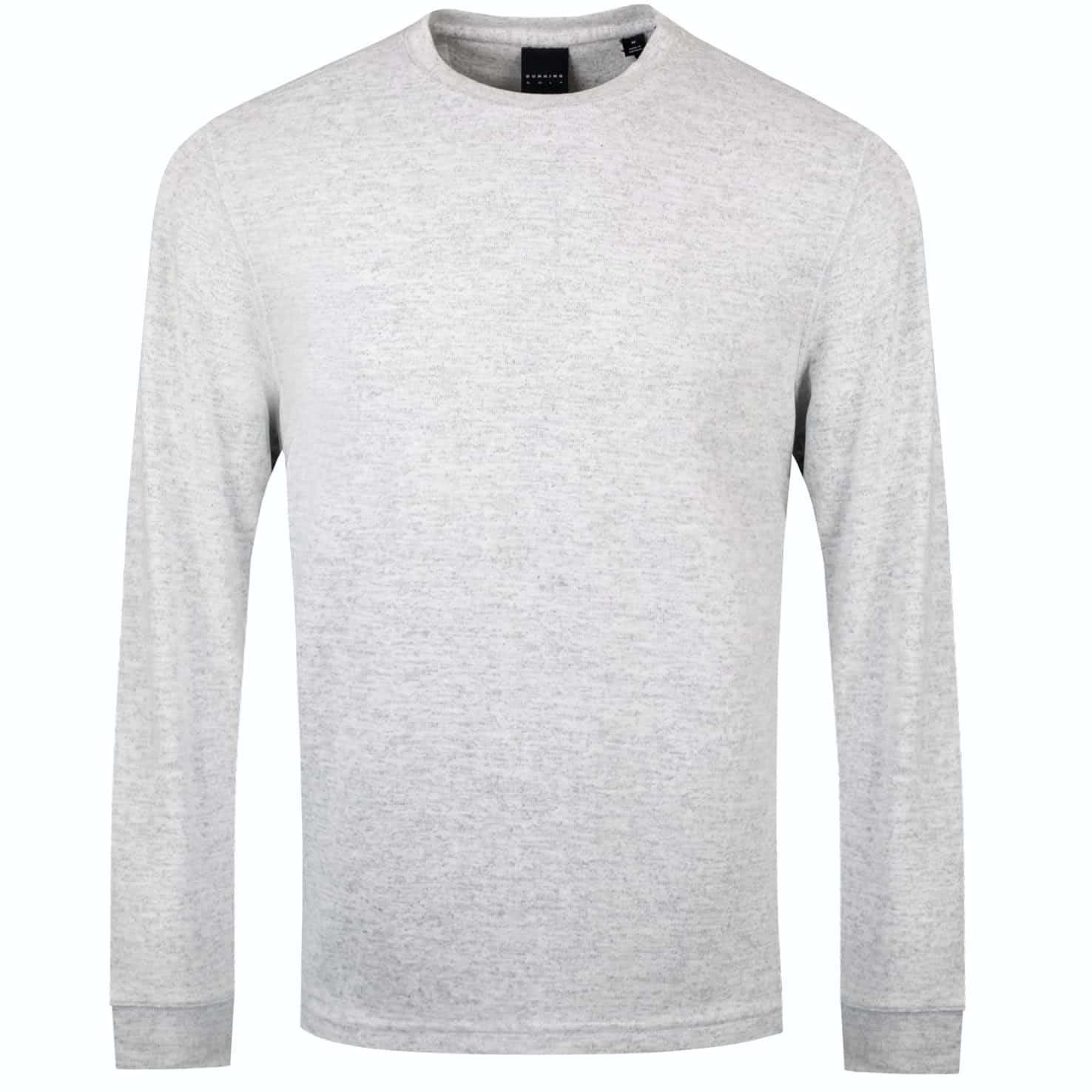 Stirling LS Crew Light Grey Heather - SS19