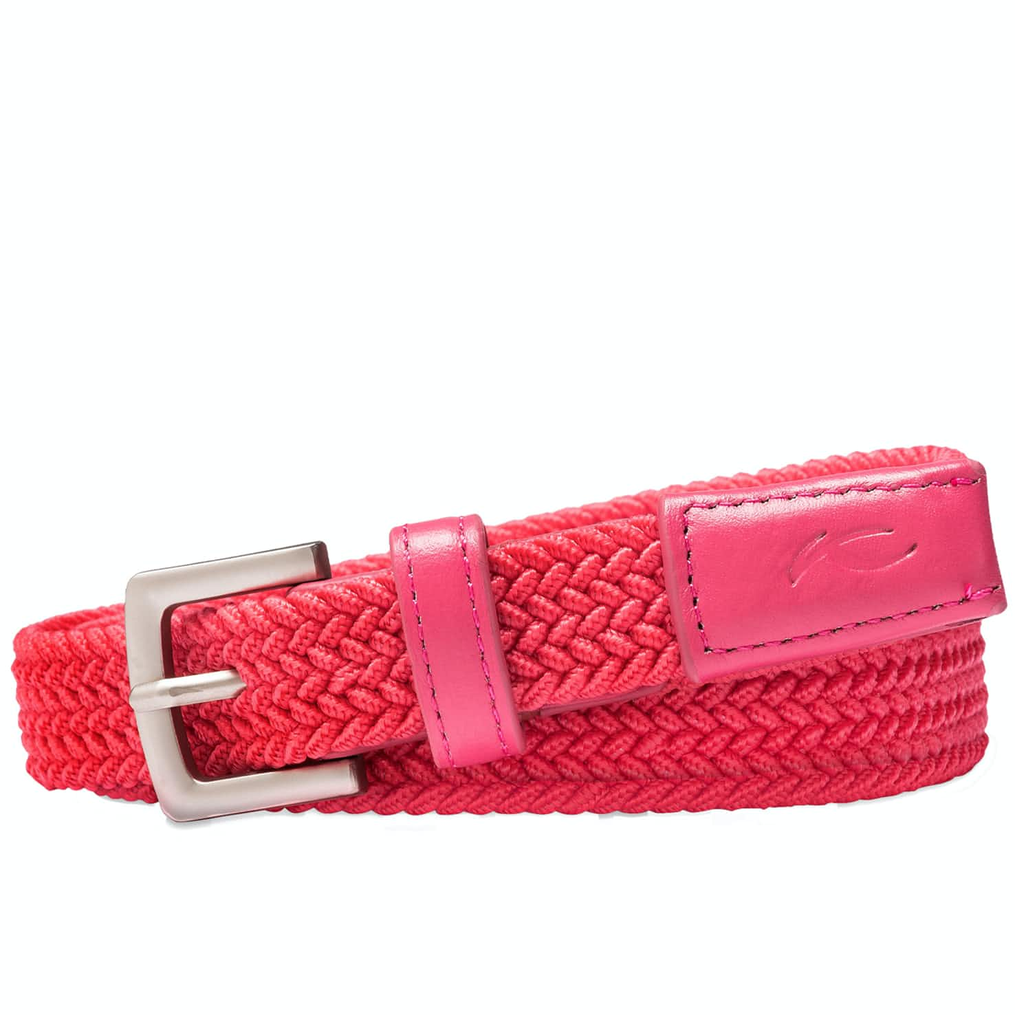 Womens Classic Webbing Belt Rouge Red - SS19