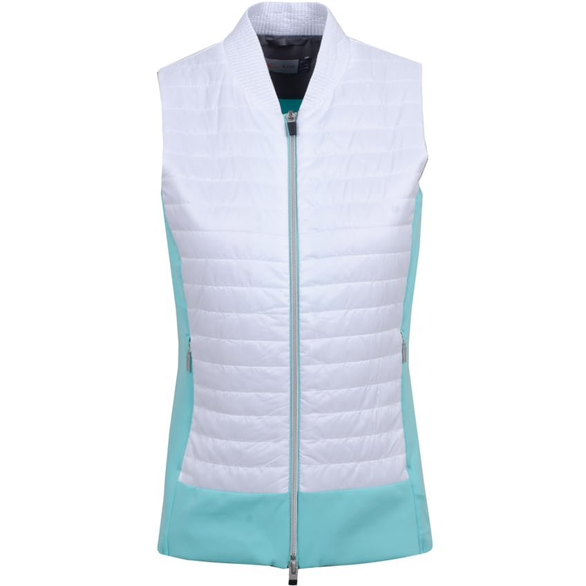 Womens Retention Vest Cool Breeze/White - SS21